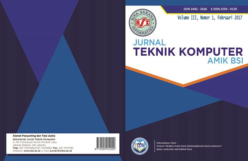 Cover Vol. III, No. 1, Februari 2017